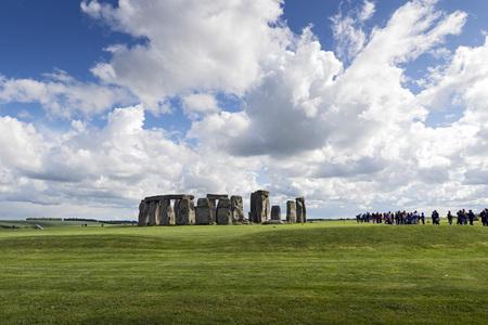 uk: Stonehenge in Wiltshire, UK.