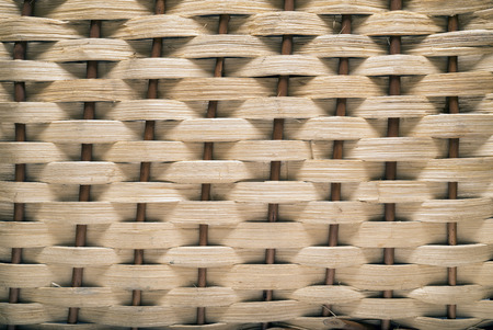 Backgrounds Patterns. Basket texture, natural straw