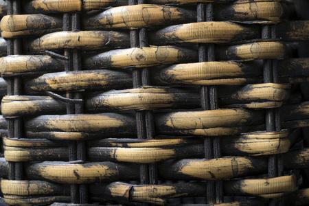 floor mat: Backgrounds Patterns. Basket texture, natural straw