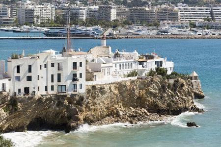 sa: Sa Penya District in Ibiza Town, Balearic Islands