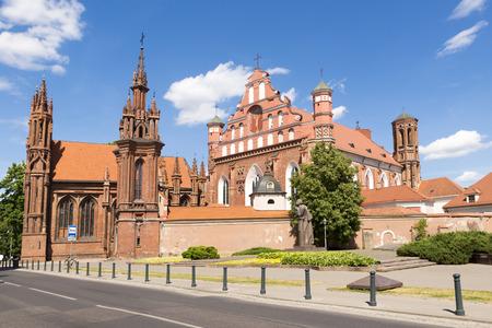 francis: St. Annes Church and Saints Francis and Bernardine Church  in Vilnius, Lithuania.
