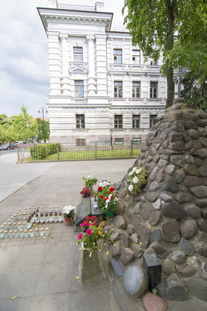 political prisoner: The Museum of Genocide Victims, it is located in the former KGB headquarters across from the Lukiskes Square, Editorial