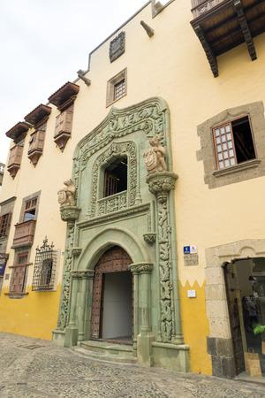 casa colon: Casa de Colon (The house of Christopher Columbus), Las Palmas, Gran Canaria, Spain Editorial