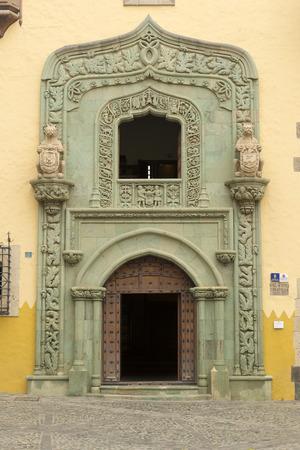 christopher: Casa de Colon (The house of Christopher Columbus), Las Palmas, Gran Canaria, Spain Editorial
