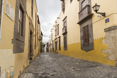 casa colon: Colon Street,  in the historic center of the city of Las Palmas, Canary Island