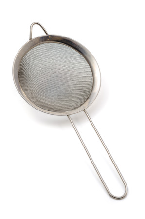 ware: Strainer isolated on white background