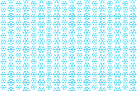 snowflakes on a white background, seamless pattern for printing design.
