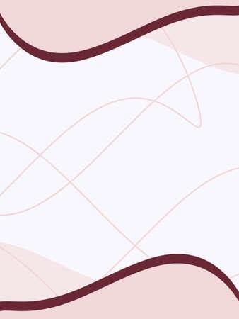 Pink business card, brochure cover or presentation background.