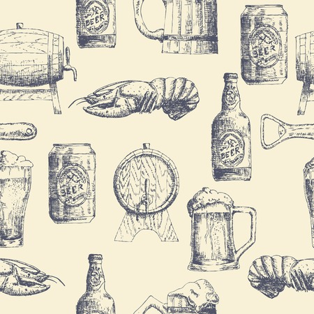 Sketch beer pattern