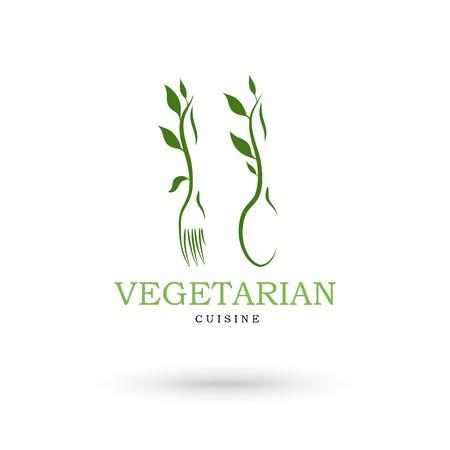 cuisine: Vegetarian cuisine icons Illustration