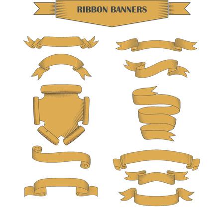Perfect vintage long ribbon