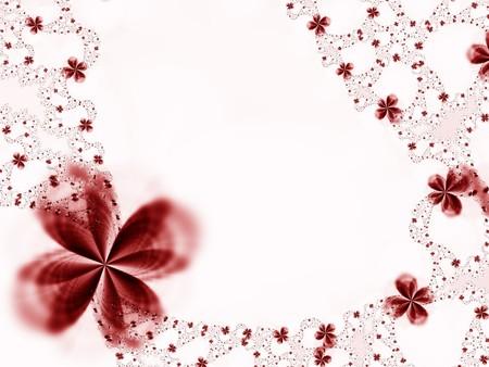 Guirnalda de flores Foto de archivo - 4303252