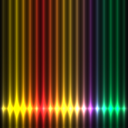 Abstract design colorful lights play