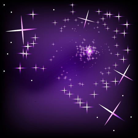 Abstract stars background Stock Vector - 10409454