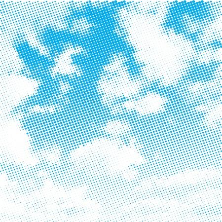 Sky illustration background Illustration