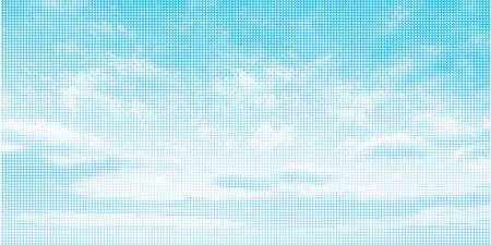 Sky illustration background Vector