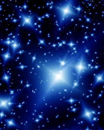 Beautiful abstract design cosmos Stock Vector - 10771616
