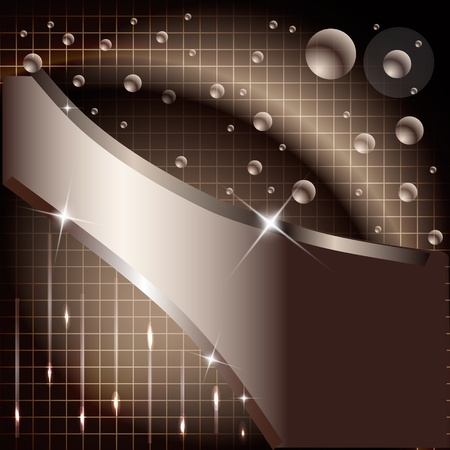 Abstract design tech background Illustration