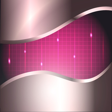 Abstract design tech background Vector