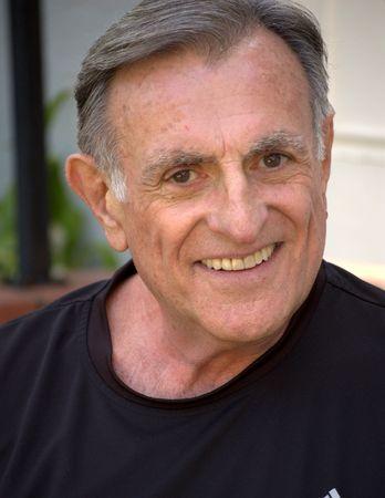 Older smiling man Stock Photo