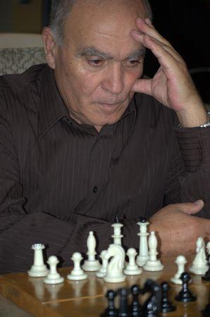 Chess player Stock Photo
