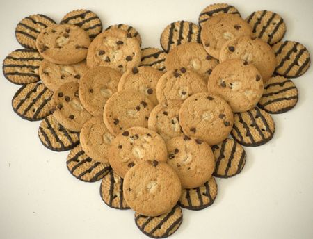 Cookies heart Stock Photo - 4104069