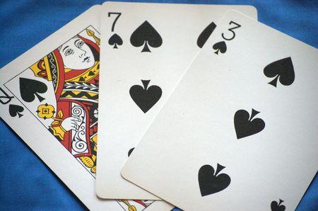 Three cards Editorial