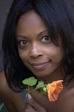 Flower portrait Stock Photo