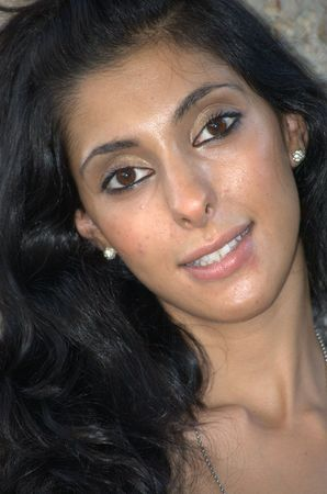 Middle eastern beauty photo