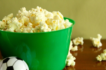 Popcorn in football