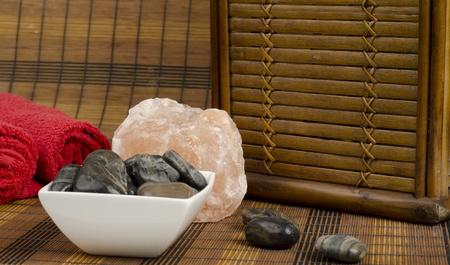 Closeup Image of spa setup Stock Photo - 13099004