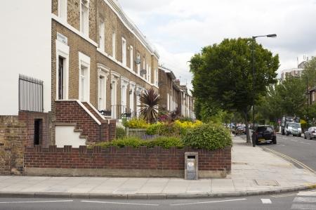 residental: Image of residental street view Stock Photo