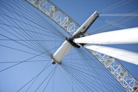 millennium wheel: Image of part of London Eye