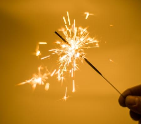 Image of sparkling stick Imagens