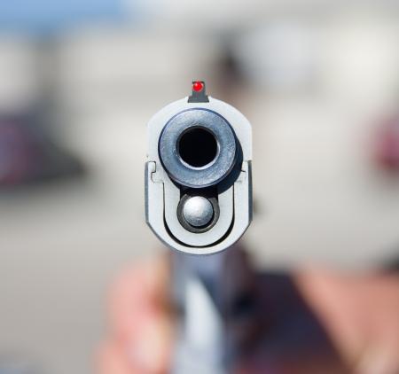 arsenal: Image of gun barrel closeup