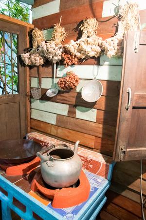 Thai style cooking corner Editorial
