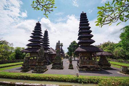 Pura Taman Ayun temple at Bali, Indonesia photo