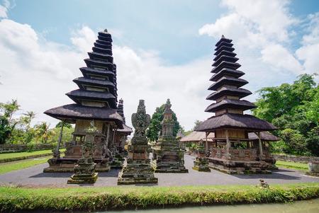 taman: Pura Taman Ayun temple at Bali, Indonesia