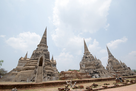 antiquated: Wat Phra Sri Sanphet, Ayutthaya Historical Park