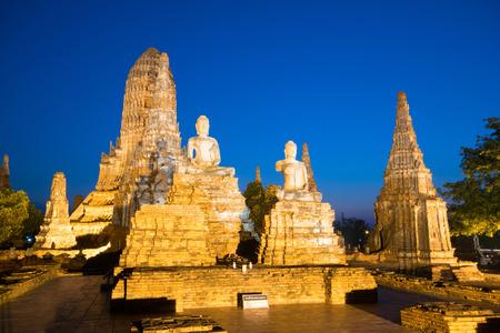 chai: Wat Chai Watthanaram temple