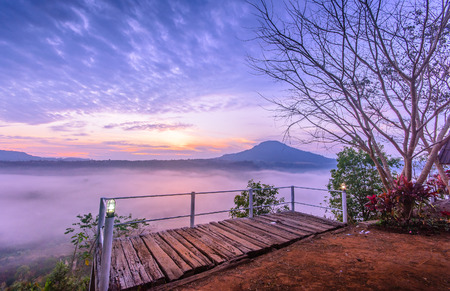 View point at Ban Phu Khaing Dao, Khao Kho, Phetchabun, Thailand