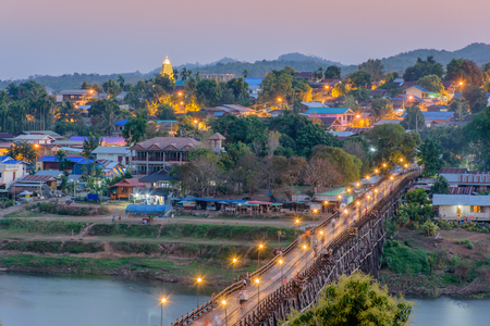 The Mon bridge is Thailand�s longest wooden bridge and the second longest in the world measuring over 400 meters long.