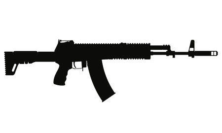 ak 12 silhouette royalty free cliparts vectors and stock