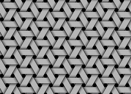 Modèle sans soudure en fibre de velours. Illustration vectorielle