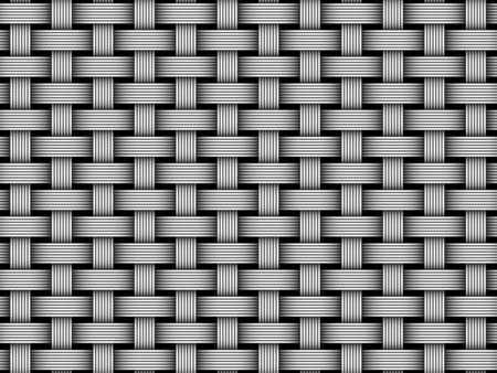 fibre seamless tissé. Vector Illustration