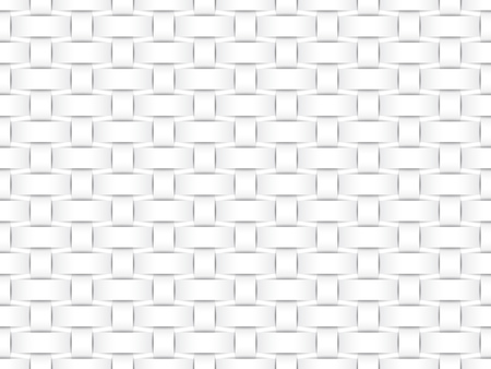 matting: Vector seamless decorative pattern of white matting paper strips. Illustration