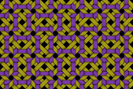 matting: Vector seamless pattern of colored matting fiber