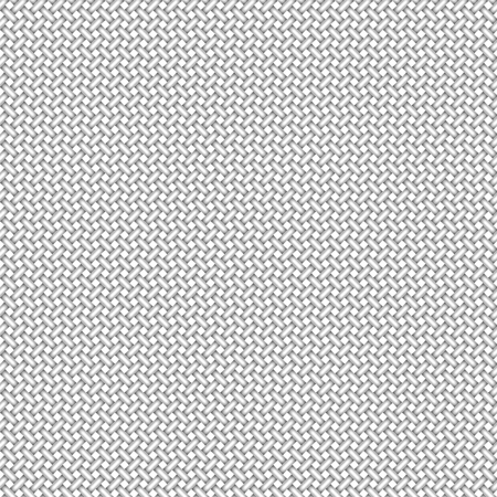 Vector seamless pattern of fabric surface. Canvas texture. Ilustração
