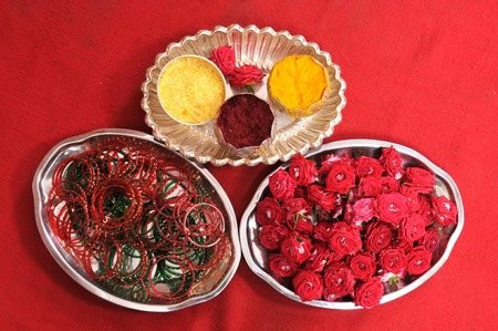 mariage indien: Objets rituels hindous - mariage indien