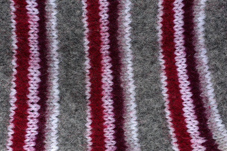 domesticity: Multicolored texture with natural wool knit pattern Stock Photo